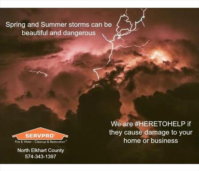 Dangerous and beautiful spring and summer storms