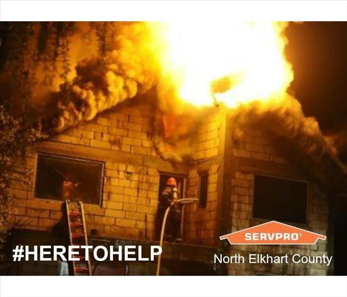 Home Fire help from SERVPRO of North Elkhart County