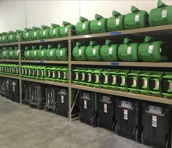 SERVPRO of North Elkhart County Equipment at the ready!